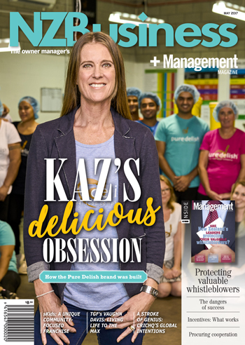NZBusiness + Management cover