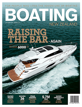 Boating New Zealand cover